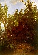 Arnold Bocklin Pan Amongst the Reeds China oil painting reproduction