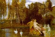 Arnold Bocklin Elysian Fields China oil painting reproduction