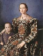 BRONZINO, Agnolo Eleonora of Toledo with her son Giovanni de  Medici China oil painting reproduction