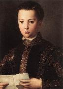 BRONZINO, Agnolo Portrait of Francesco I de Medici China oil painting reproduction