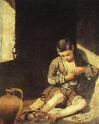 Bartolome Esteban Murillo The Young Beggar China oil painting reproduction