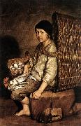 CERUTI, Giacomo Boy with a Basket China oil painting reproduction