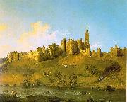 Canaletto Alnwick Castle, Northumberland China oil painting reproduction