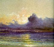 Charles Blechen Sunset at Sea China oil painting reproduction
