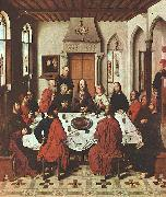 Dieric Bouts The Last Supper China oil painting reproduction