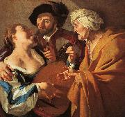 Dirck van Baburen The Procuress China oil painting reproduction