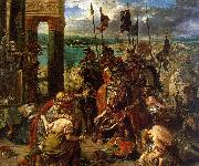 Eugene Delacroix The Entry of the Crusaders into Constantinople China oil painting reproduction