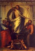 Fra Bartolommeo Resurrected Christ with Saints China oil painting reproduction