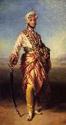 Franz Xaver Winterhalter The Maharajah Duleep Singh China oil painting reproduction