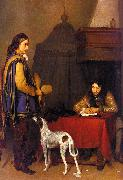 Gerard Ter Borch The Dispatch China oil painting reproduction