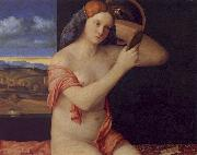 Giovanni Bellini Young Woman at her Toilet China oil painting reproduction