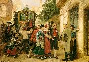 Gustave Brion Wedding Procession China oil painting reproduction
