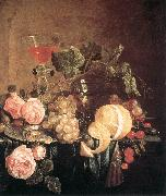 HEEM, Jan Davidsz. de Still-Life with Flowers and Fruit swg China oil painting reproduction