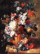 HUYSUM, Jan van Bouquet of Flowers in an Urn sf China oil painting reproduction