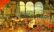 Jan Brueghel The Sense of Hearing China oil painting reproduction