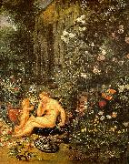 Jan Brueghel The Sense of Smell China oil painting reproduction