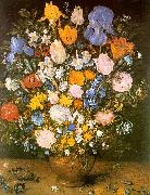 Jan Brueghel Bouquet of Flowers in a Clay Vase China oil painting reproduction
