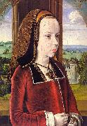 Jean Hey Portrait of Margaret of Austria China oil painting reproduction