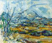Paul Cezanne Montagne Sainte-Victoire China oil painting reproduction