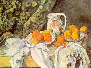 Paul Cezanne Still Life with Drapery China oil painting reproduction