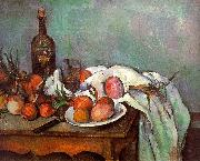 Paul Cezanne Onions and Bottles China oil painting reproduction
