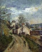 Paul Cezanne The House of Dr Gauchet in Auvers China oil painting reproduction