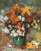 Pierre Renoir Bouquet de Chrysanthemes China oil painting reproduction