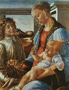 Sandro Botticelli Madonna and Child with an Angel China oil painting reproduction