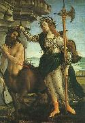 Sandro Botticelli Pallas and the Centaur China oil painting reproduction