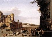 POELENBURGH, Cornelis van Ruins of Ancient Rome af China oil painting reproduction