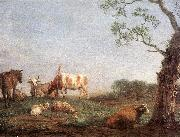 POTTER, Paulus Resting Herd a China oil painting reproduction