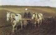 Ilya Repin A Ploughman,Leo Tolstoy Ploughing China oil painting reproduction
