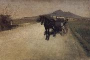 Gustave Caillebotte Road China oil painting reproduction