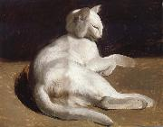 Theodore Gericault The White Cat China oil painting reproduction
