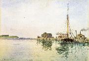 Alfred Thompson Bricher Harbor China oil painting reproduction