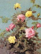 Lambdin, George Cochran Roses China oil painting reproduction