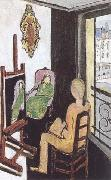 Henri Matisse The Painter and his Model (mk35) China oil painting reproduction