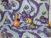 Henri Matisse Still Life with Blue Tablecoloth (mk35) China oil painting reproduction