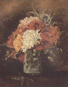 Vincent Van Gogh Vase with Carnations (nn04) China oil painting reproduction