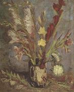 Vincent Van Gogh Vase with Gladioli (nn04) China oil painting reproduction