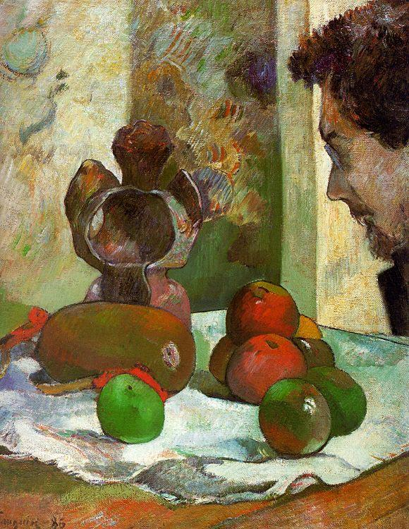 Paul Gauguin Still Life with Profile of Laval