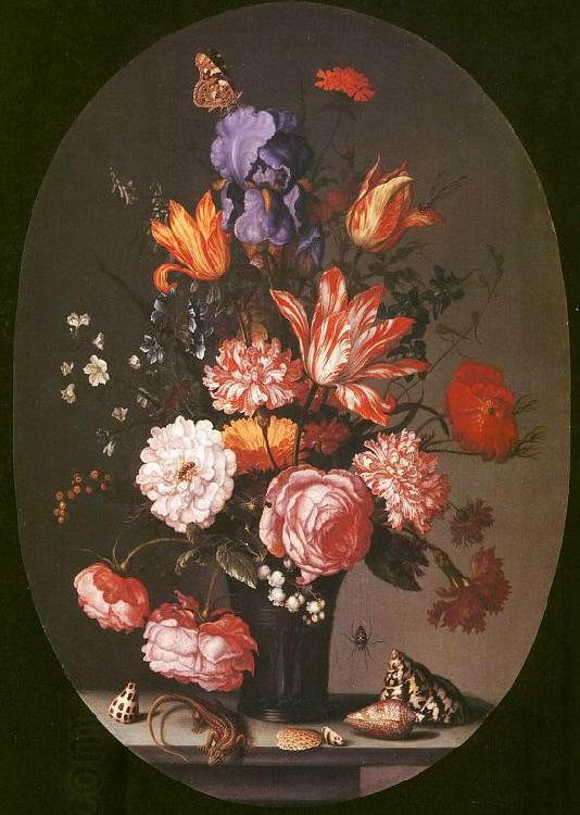 AST, Balthasar van der Flowers in a Glass Vase