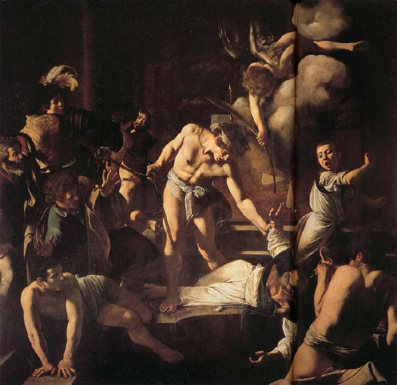 Martyrdom of St.Matthew Caravaggio China Oil Paintings ...