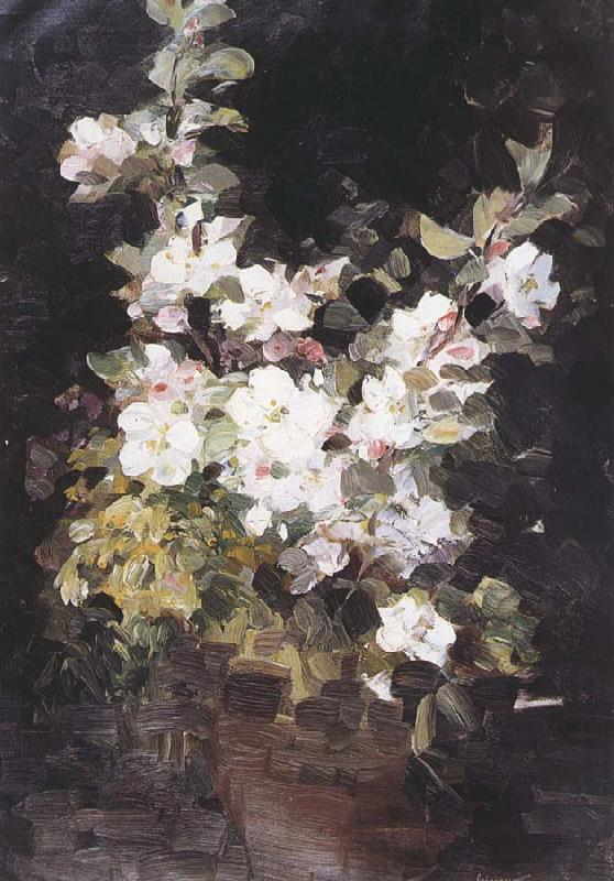 Nicolae Grigorescu Apple Blossom oil painting pictureNicolae Grigorescu Paintings